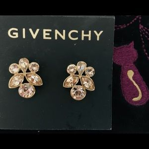 Givenchy Earrings -Crystal /NEW